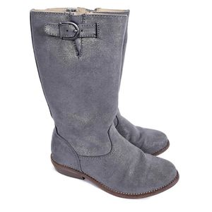 Hanna Andersson Girls Karinne Silver Boots Girls 1
